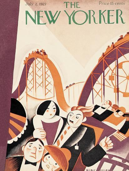 The New Yorker Cover - July 2, 1927-Victor Bobritsky-Premium Giclee Print