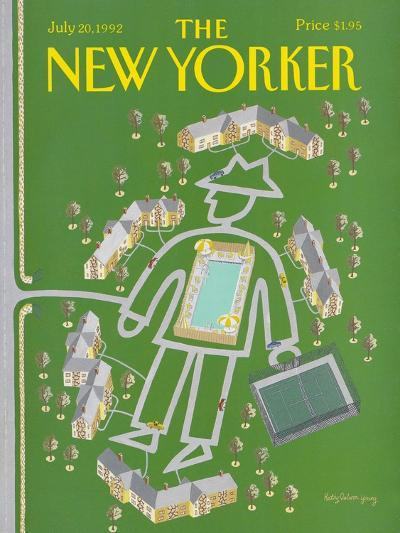 The New Yorker Cover - July 20, 1992-Kathy Osborn-Premium Giclee Print
