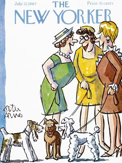 The New Yorker Cover - July 22, 1967-Peter Arno-Premium Giclee Print