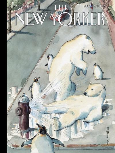 The New Yorker Cover - July 23, 2007-Barry Blitt-Premium Giclee Print