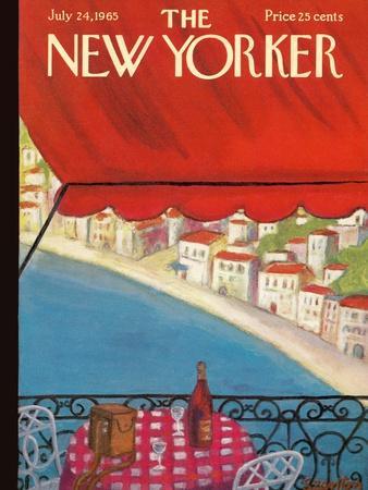 The New Yorker Cover - July 24, 1965-Beatrice Szanton-Premium Giclee Print