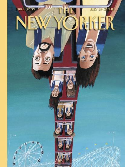 The New Yorker Cover - July 24, 2006-Mark Ulriksen-Premium Giclee Print