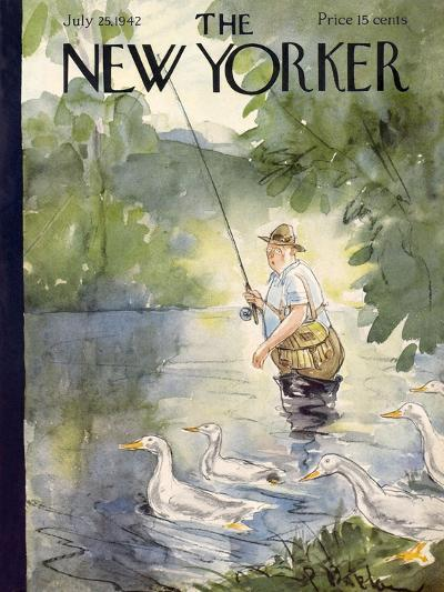 The New Yorker Cover - July 25, 1942-Perry Barlow-Premium Giclee Print