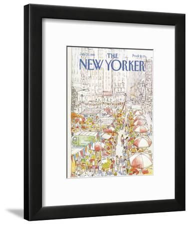 The New Yorker Cover - July 27, 1981-Arthur Getz-Framed Premium Giclee Print