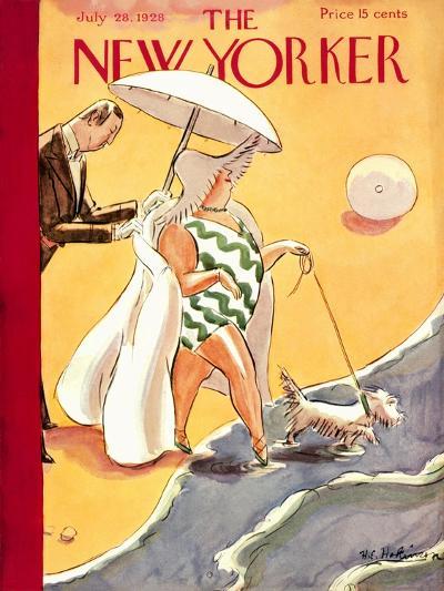 The New Yorker Cover - July 28, 1928-Helen E. Hokinson-Premium Giclee Print