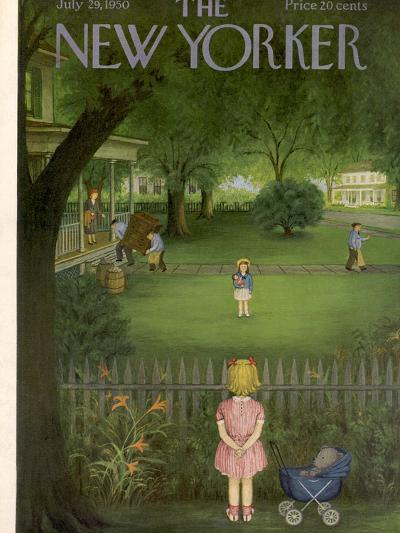 The New Yorker Cover - July 29, 1950-Edna Eicke-Premium Giclee Print