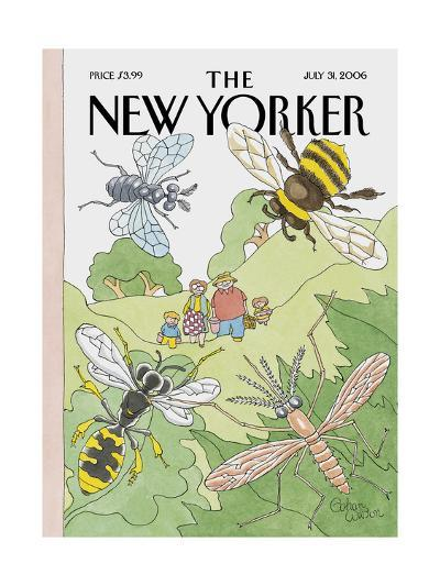 The New Yorker Cover - July 31, 2006-Gahan Wilson-Premium Giclee Print