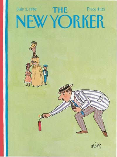 The New Yorker Cover - July 5, 1982-William Steig-Premium Giclee Print