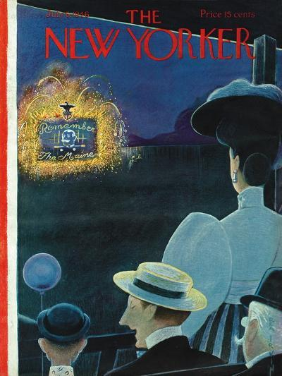 The New Yorker Cover - July 6, 1946-Rea Irvin-Premium Giclee Print