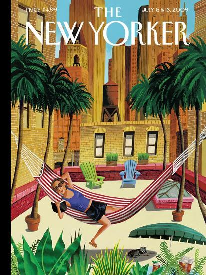 The New Yorker Cover - July 6, 2009-Mark Ulriksen-Premium Giclee Print