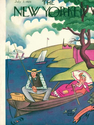 The New Yorker Cover - July 7, 1928-Julian de Miskey-Premium Giclee Print