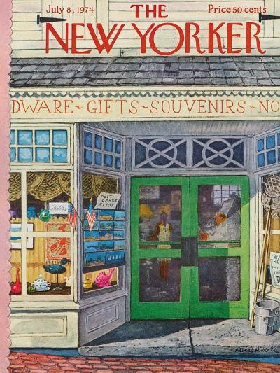 The New Yorker Cover - July 8, 1974-Albert Hubbell-Premium Giclee Print