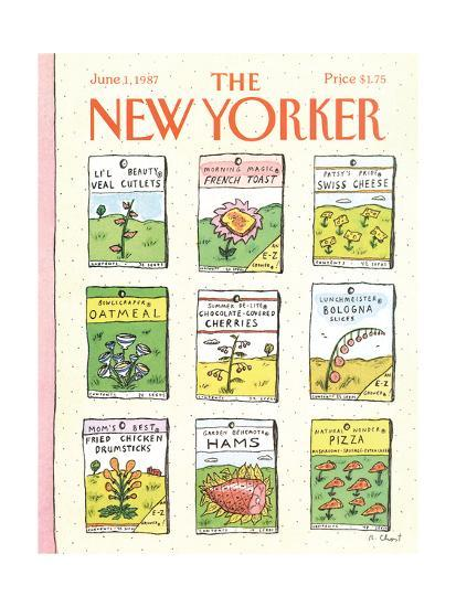 The New Yorker Cover - June 1, 1987-Roz Chast-Premium Giclee Print