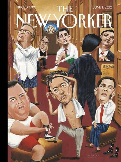 The New Yorker Cover - June 1, 2015--Premium Giclee Print