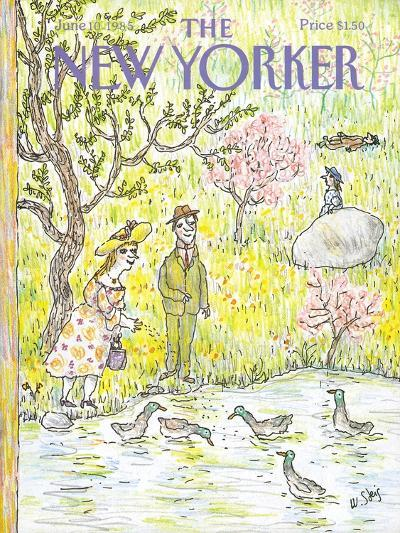 The New Yorker Cover - June 10, 1985-William Steig-Premium Giclee Print
