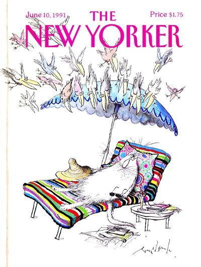 The New Yorker Cover - June 10, 1991-Ronald Searle-Premium Giclee Print