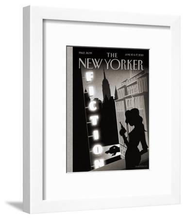 The New Yorker Cover - June 10, 2013-Birgit Sch?ssow-Framed Premium Giclee Print