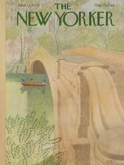 The New Yorker Cover - June 11, 1979-Charles E. Martin-Premium Giclee Print