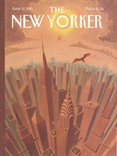 The New Yorker Cover - June 12, 1995-Eric Drooker-Premium Giclee Print