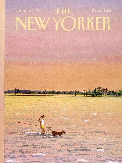 The New Yorker Cover - June 16, 1986-Susan Davis-Premium Giclee Print