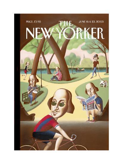 The New Yorker Cover - June 16, 2003-Mark Ulriksen-Premium Giclee Print