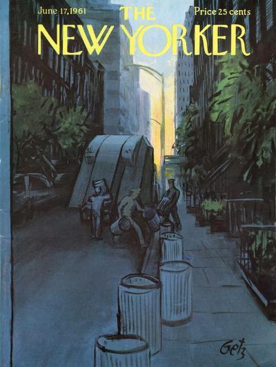 The New Yorker Cover - June 17, 1961-Arthur Getz-Premium Giclee Print