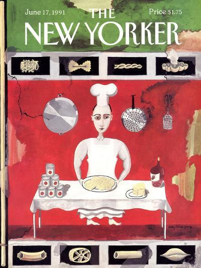 The New Yorker Cover - June 17, 1991-Kathy Osborn-Premium Giclee Print