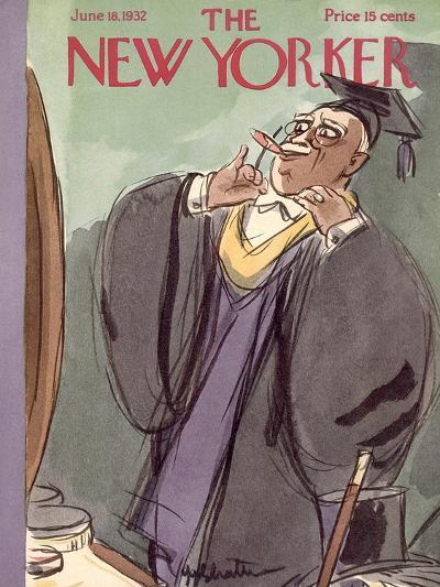 The New Yorker Cover - June 18, 1932-William Galbraith Crawford-Premium Giclee Print