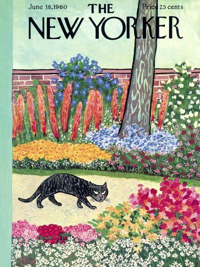 The New Yorker Cover - June 18, 1960-William Steig-Premium Giclee Print