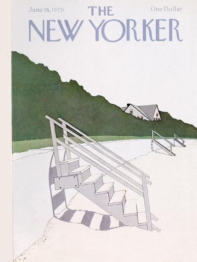 The New Yorker Cover - June 18, 1979-Gretchen Dow Simpson-Premium Giclee Print