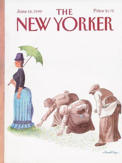 The New Yorker Cover - June 18, 1990-J.B. Handelsman-Premium Giclee Print