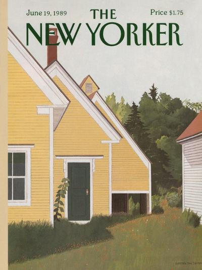The New Yorker Cover - June 19, 1989-Gretchen Dow Simpson-Premium Giclee Print