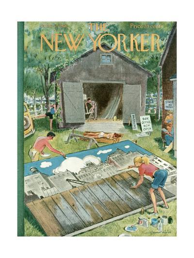 The New Yorker Cover - June 2, 1951-Garrett Price-Premium Giclee Print