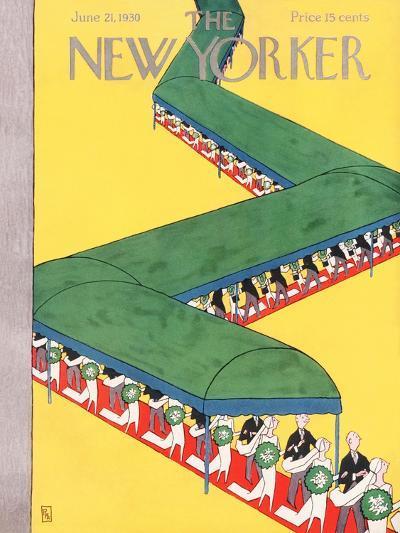 The New Yorker Cover - June 21, 1930-Gardner Rea-Premium Giclee Print