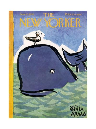 The New Yorker Cover - June 23, 1962-Peter Arno-Premium Giclee Print