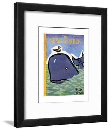 The New Yorker Cover - June 23, 1962-Peter Arno-Framed Premium Giclee Print