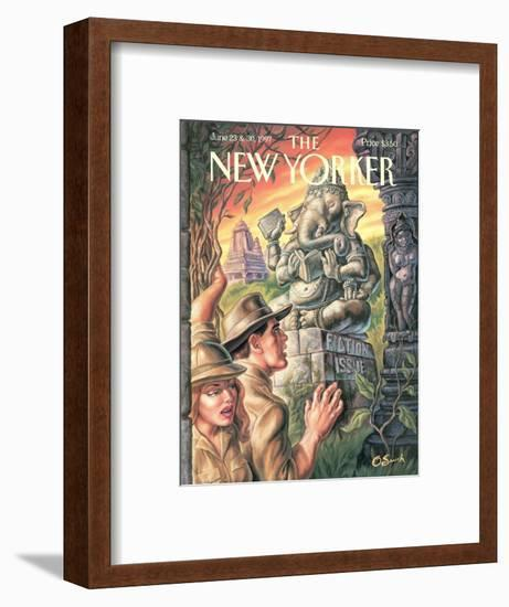 The New Yorker Cover - June 23, 1997-Owen Smith-Framed Premium Giclee Print