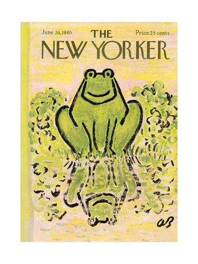 The New Yorker Cover - June 26, 1965-Abe Birnbaum-Premium Giclee Print