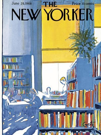 The New Yorker Cover - June 29, 1968-Arthur Getz-Premium Giclee Print