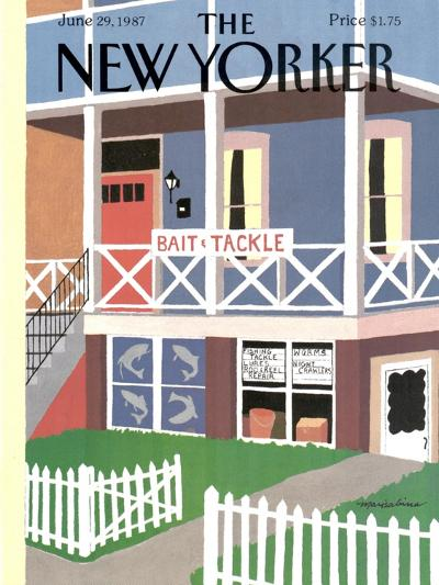 The New Yorker Cover - June 29, 1987-Marisabina Russo-Premium Giclee Print