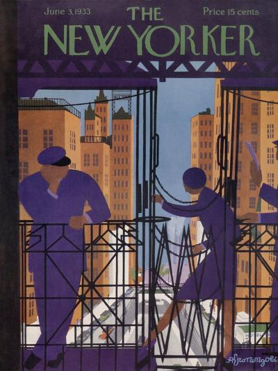 The New Yorker Cover - June 3, 1933-Adolph K. Kronengold-Premium Giclee Print