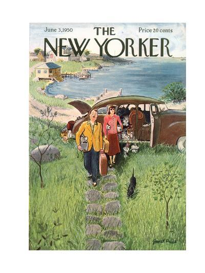 The New Yorker Cover - June 3, 1950-Garrett Price-Premium Giclee Print