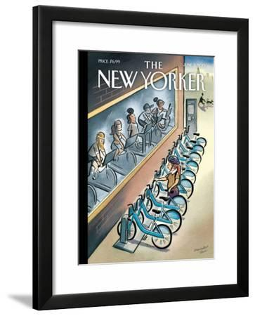 The New Yorker Cover - June 3, 2013-Marcellus Hall-Framed Art Print
