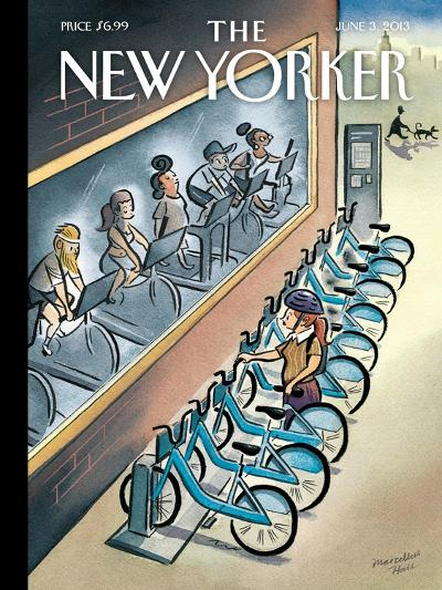 The New Yorker Cover - June 3, 2013-Marcellus Hall-Premium Giclee Print