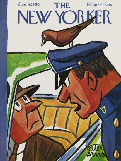 The New Yorker Cover - June 4, 1960-Peter Arno-Premium Giclee Print