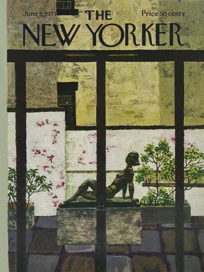 The New Yorker Cover - June 5, 1971-Laura Jean Allen-Premium Giclee Print