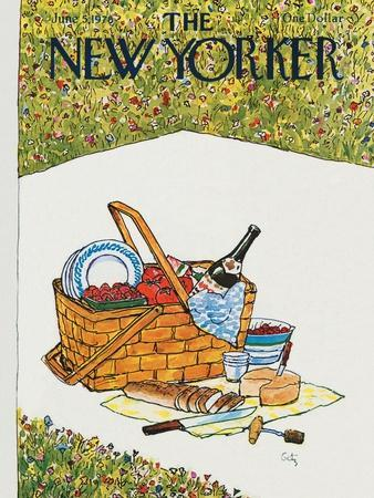 The New Yorker Cover - June 5, 1978-Arthur Getz-Premium Giclee Print