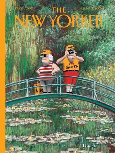 The New Yorker Cover - June 5, 2000-Ian Falconer-Premium Giclee Print