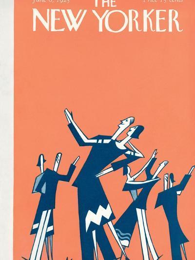 The New Yorker Cover - June 6, 1925-Julian de Miskey-Premium Giclee Print