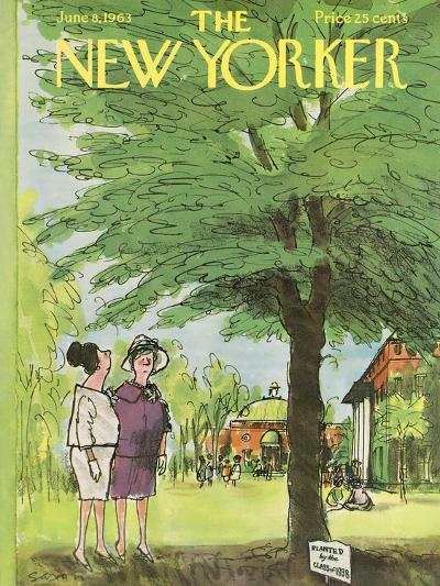 The New Yorker Cover - June 8, 1963-Charles Saxon-Premium Giclee Print